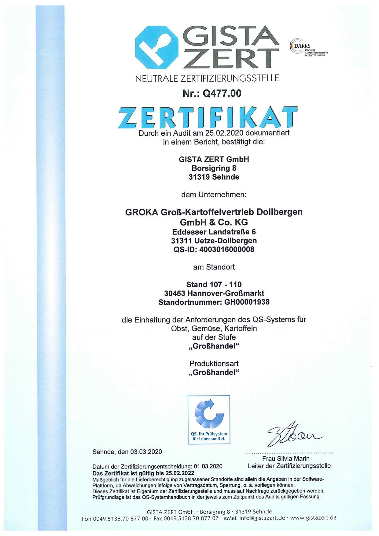 Zertifikate/Zertifikat_QS_GROKA_2020_Standort_Hannover.jpg