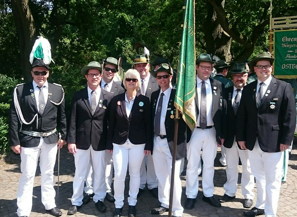 Besuch auf dem Schützenfest Loburg
