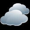 Wolkenbedeckt