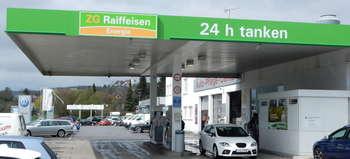 ZG Raiffeisen Tankstelle Aach Raiffeisen-Tankstelle